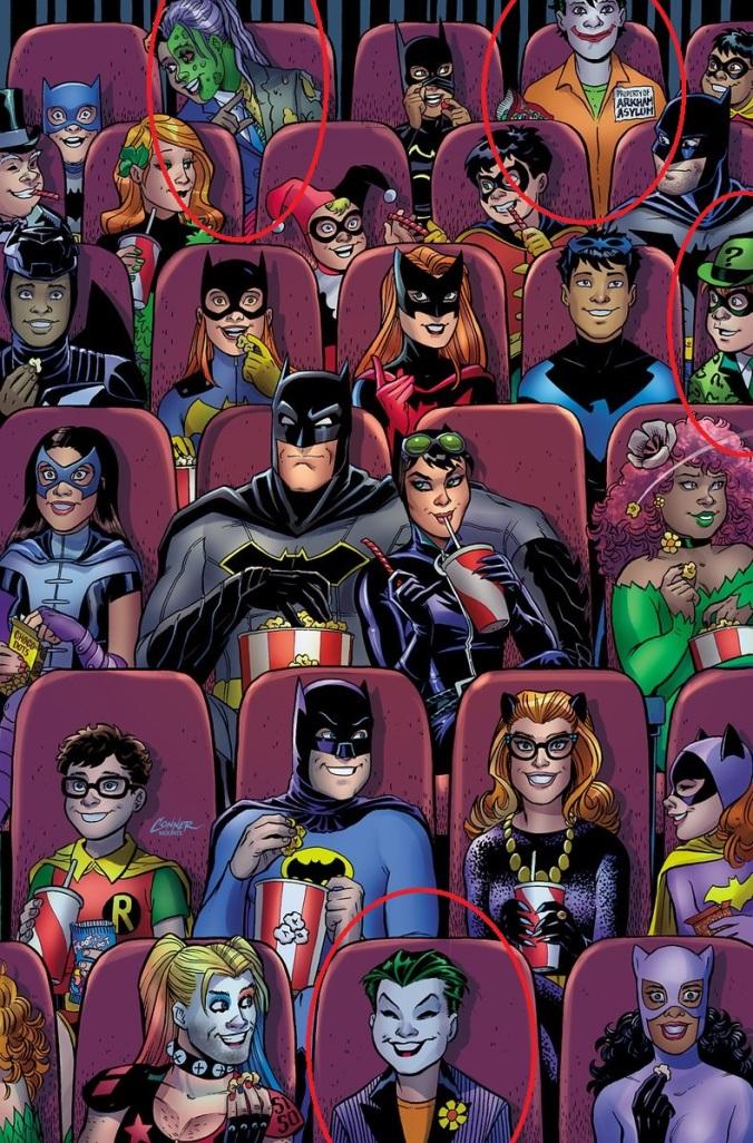 Bats 47 circles